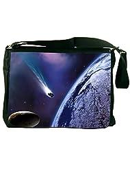 Snoogg Space Trip Laptop Messenger Bag