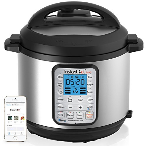 Instant Pot IP-Smart Bluetooth-Enabled Multifunctional Pressure Cooker, Stainless Steel (Instant Pot Lux60 compare prices)