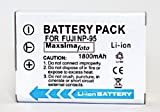 Maxsima - NP-95 NP95 1800mAh Compatible Battery for Fujifilm FinePix X100, F30, F31fd, FNP-95.