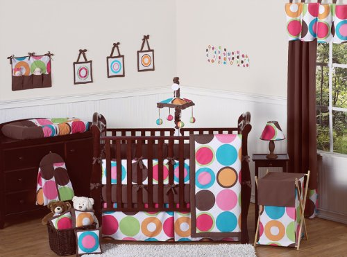 Sweet Jojo Designs Deco Dot Baby Bedding