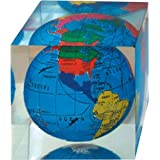 Square Global Paperweight Trade Show Giveaway