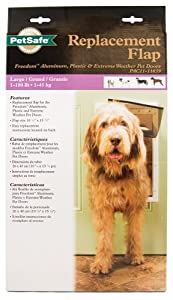 PetSafe Replacement Flap, Large for PetSafe Freedom Door