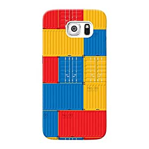 Mobile Back Cover For Samsung Galaxy S6 (Printed Designer Case)