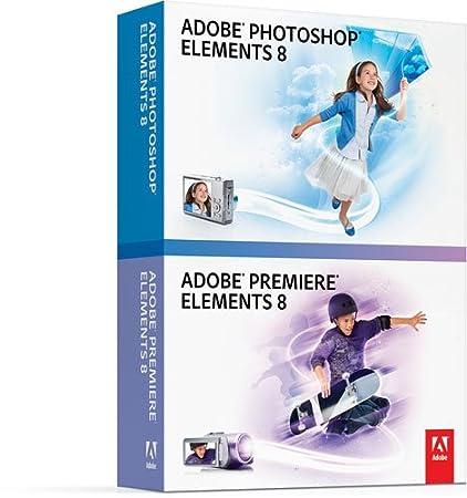 Bundle Photoshop Elements 8 + Premiere Elements 8