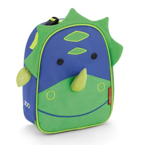 Skip Hop Zoo Lunchies Insulated Lunch Bags, Dinosaur