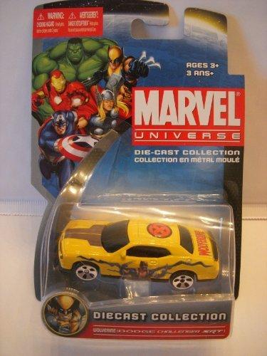 Marvel Universe Die-Cast Collection - Wolverine (Dodge Challenger SRT) - 1