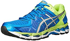 ASICS Men's Gel-Kayano 21 Running Shoe,Royal/Lightning/Flash Yellow,7.5 M US