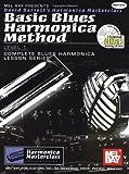 Mel Bay Basic Blues Harmonica Method Book/CD Set