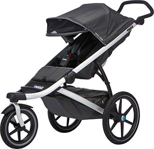 Thule 10101902 Urban Glide 1 Sport Stroller, Dark Shadow (Thule Urban Glide compare prices)