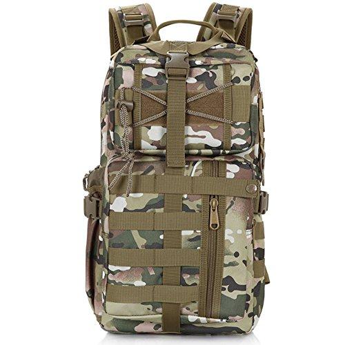 les fans de l'armée sac à bandoulière / sac à dos ordinateur / extérieur tactique sac / multifonction sac camouflage-2 35L