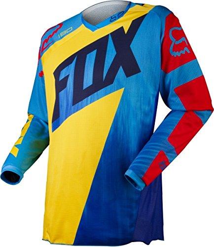 Fox 2015 Motocross Jersey- Motocross - Enfants - 180 Vandal Jaune/Bleu