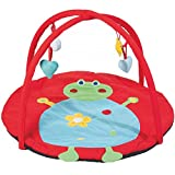 Baby Gym and Play Mat Ø 90cm FROG