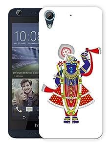 """Humor Gang Tirupati Balaji God Printed Designer Mobile Back Cover For """"HTC DESIRE 626"""" (3D, Matte, Premium Quality Snap On Case)"""
