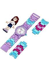 Lego 9001000 Friends Olivia w/Figurine Plastic Kid's Watch