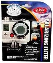 GoPro Accessory Polarizer Filter-GoPro Hero & Hero 2 Cameras Lens Flat 1080p Outdoor Surf Anti Glare and Anti Fog