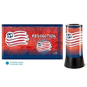 MLS New England Revolution Rotating Lamp by WinCraft