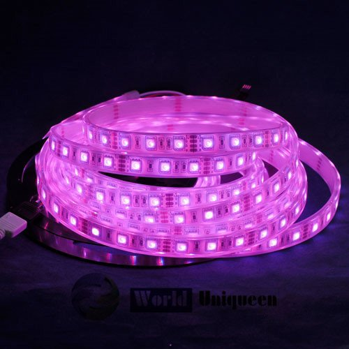 Dc12V 5M 60Leds/M 300Leds Sleeve+Glue High Waterproof Ip68 72W Rgb Color Led Flexible Strip Light Smd5050
