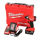 Milwaukee 2653-22 18-Volt Cordless M18 FUEL Lithium-Ion 1/4-in Hex Impact Driver with XC Battery Kit