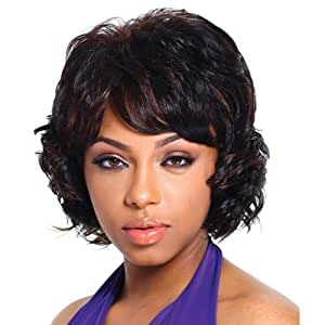 R&B Collection Synthetic Full Wig - 21 - Color #4/30 - Light Brown/Medium Brown Red