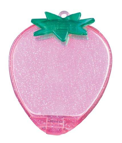 ヤマムラ イチゴコンパクトミラー ピンク