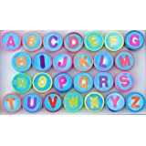 26 pc Plastic Alphabet Stampers ~ one of each letter