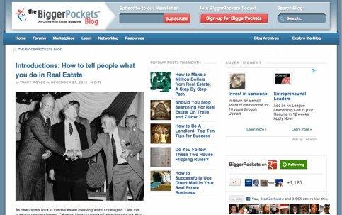 The BiggerPockets Blog | Real Estate Investing Daily