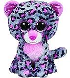 Ty Beanie Boos Glubschi Tasha Leopard pink grau 15 cm 24 cm Plüsch Stofftier