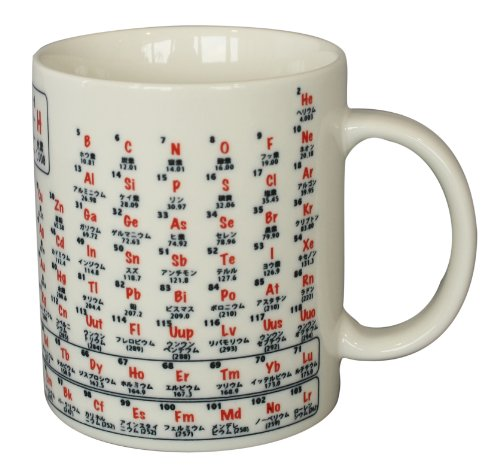 頭がメッチャよくなる?マグカップ 化学(元素記号) マグカップ 501-038