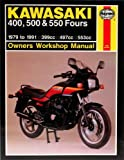 Haynes Manual for Kawasaki 400, 500 & 550 Fours (79 - 91) Including an AA Microfibre Magic Mitt
