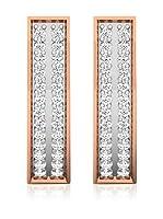 Diamant Vendome Pendientes Oro Rosa