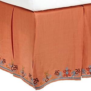 SFERRA 1891 by SFERRA Garland Linen 3-Piece Panel Bedskirt at Sears.com