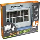 Panasonic Panasonic SolarSmart Portable Solar Power for Mobile Devices - Solar Chargers - Retail Packaging - White/Black