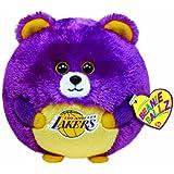 Ty Beanie Ballz Los Angeles Lakers - NBA Ballz