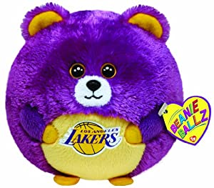 Ty Beanie Ballz Los Angeles Lakers - NBA Ballz