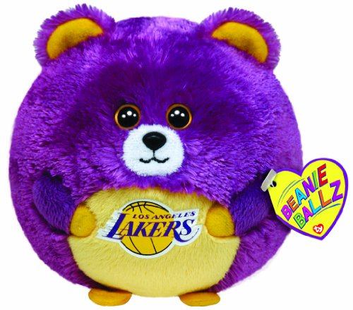 Ty Beanie Ballz Los Angeles Lakers - Nba Ballz front-517223