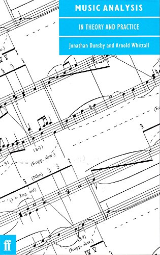Music Analysis in Theory and Practice