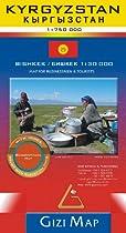 Kyrgyzstan geogr. (r) scale: 1/750