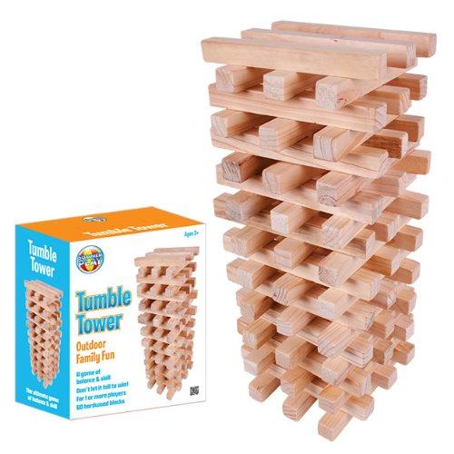 Benross Summer Play Garden Fun Giant Wooden Tower Game