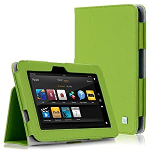 CaseCrown Bold Standby Case (Green) for 2012 Amazon Kindle Fire HD 8.9 Inch with Auto Sleep Function (DOES NOT FIT HDX MODEL)