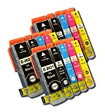 Odyssey Supplies® - Compatible Ink Cartridges for Epson expression premium printers XP-600, XP-605, XP-700, XP-800, XP600, XP605, XP700, XP800, (15 carts (3 sets))