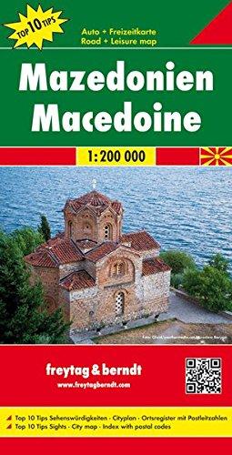 Macedonia 1:200.000 (Auto karte)