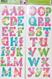 Main Street Wall Creations Jumbo Stickers - A B C's Princess Pink