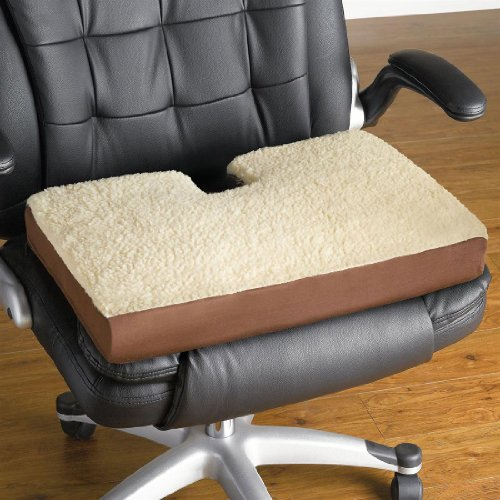 Cheap Plus+Size Living BrylaneHome 22″ Coccyx Gel Cushion (B00AQY9QJG)
