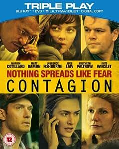 Contagion (Blu-ray + DVD) [Region Free]