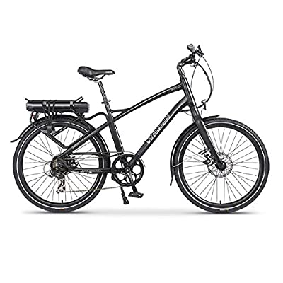 Wisper 905se Cross Bar Stealth Black Electric Bike