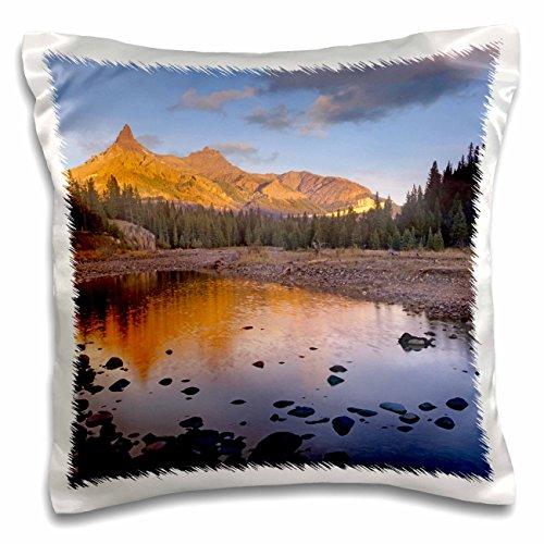 Danita Delimont - Wyoming - Pilot Peak and Index Peak, Wyoming USA - US51 TFI0061 - Tim Fitzharris - 16x16 inch Pillow Case (pc_97618_1)