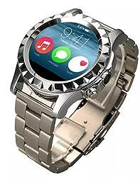 Bluetooth 4.0 Smart Watch(Sapphire Glass, Pedometer, Heart Rate, Waterproof, Anti-lost) , rose gold