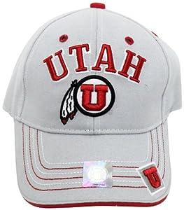 Buy NCAA Utah Utes Gray Applique Cap by Donegal Bay