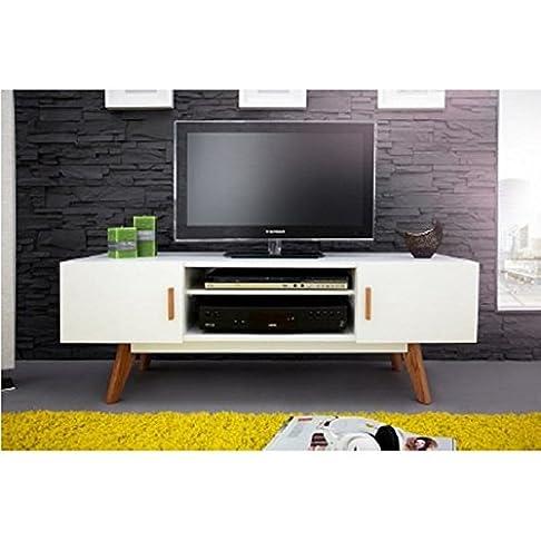 Actual diffusione 9310b Mobile TV con 2ante/4piedi legno 40x 120x 45cm
