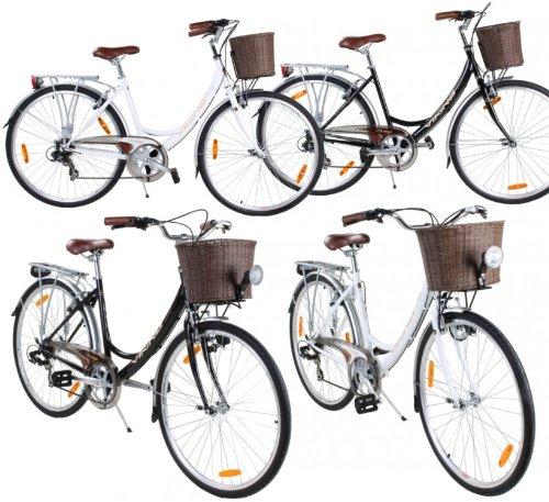 Viking-Prelude-7-Gang-Citybike-Stadt-Fahrrad-FarbeSchwarz-ohne-LichtRahmengrsse48-cm